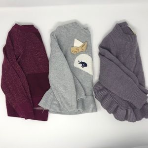 Other - ⬇️$12 🛍BUNDLE🛍 three sweaters 2t